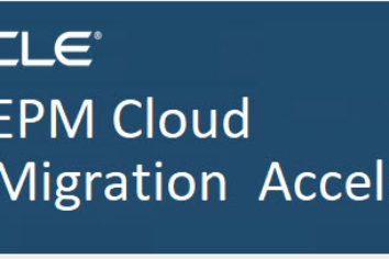 EPM CLOUD Migration Accelerator Overview