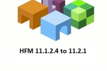 HFM upgrade from 11.1.2.4 to 11.2.1